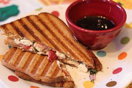 Strawberry Basil and Goat Cheese Panini | Foods Upon Which to Feast ...