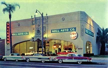 Pasadena CA Noll Packard Car Dealership