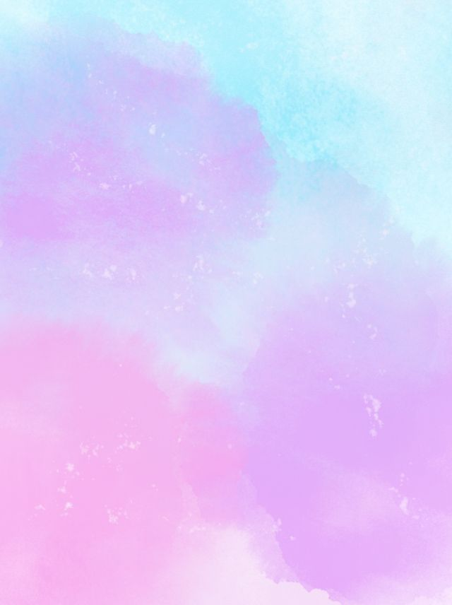 Pink Purple Blue Watercolor Background In 2020 Cute Pink