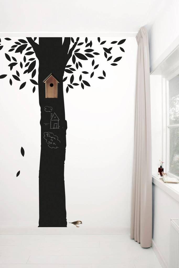 Chalkboard Tree Wallsticker aus Tafelfolie