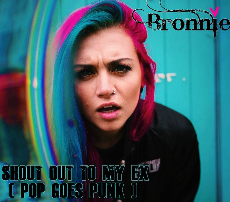 #BRONNIE @BronnieMusic  SHOUT OUT TO MY EX (POP GOES PUNK) listen here!! ---> https://open.spotify.com/album/3SpCQrFWb7YG1m218G6BFV …    RT/FAV and tag any friends who will like this! #PopGoesPunk 👽