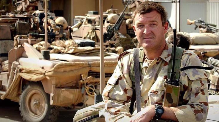 Lieutenant Colonel Mike Harris, AAPRS – a highly respected colleague and a top bloke