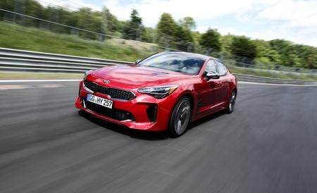 We just hit the Nürburgring in a new rear-wheel-drive, turbocharged sports sedan . . . from none other than Kia Motors America.