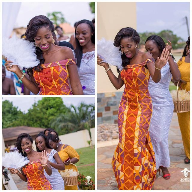 Lets Welcome Her Makeup By Kaan Artistry Photography Sorce Video Ghana Wedding Dressafrican