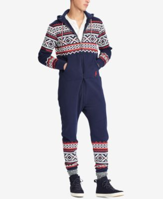 Polo Ralph Lauren Men's Fair Isle Onesie