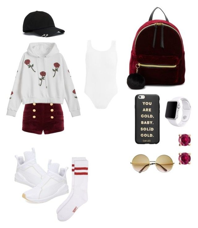 """""""Day out"""" by lizzie-johnson-1 on Polyvore featuring Puma, Pierre Balmain, T-shirt & Jeans, Apple, Thomas Sabo and ban.do"""