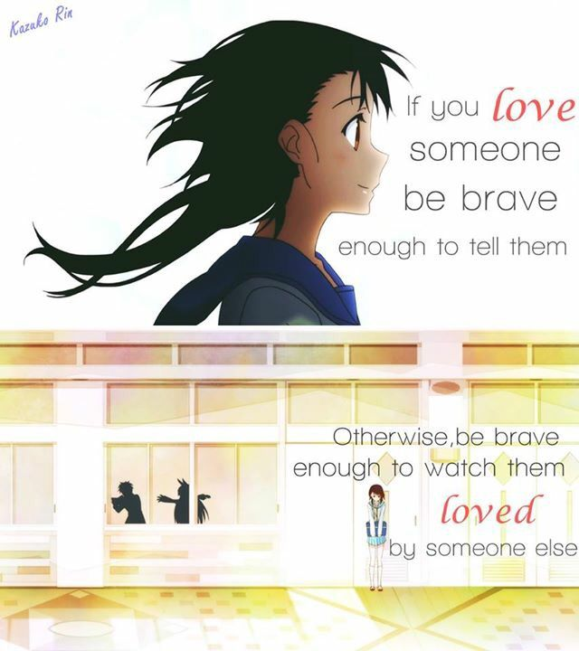 anime nisekoi anime quotes pinterest to tell dr