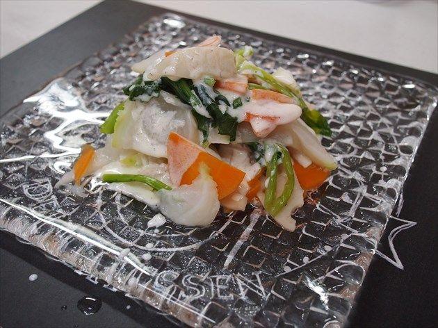 根菜の温野菜サラダ