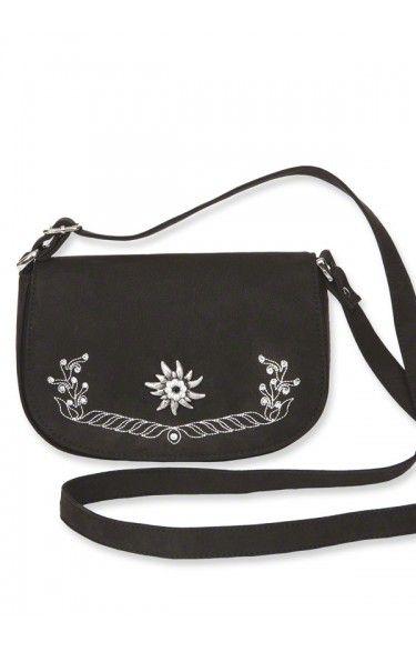 Trachtentasche - T810 - schwarz