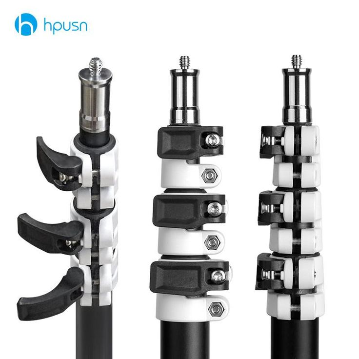 HPUSN B4 Light Stand Collapsible Tripod for Photo Video Lighting Soporte Tripods Suitable for 3D VR HTC Vive Pre Base StationModel Number: B4Brand Name: HPUSNMa