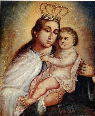 Virgen del Carmen. Juan Lovera