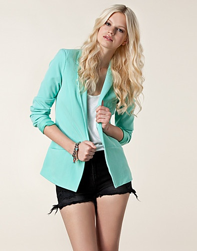 Mint Green Blazer #pavelife #style