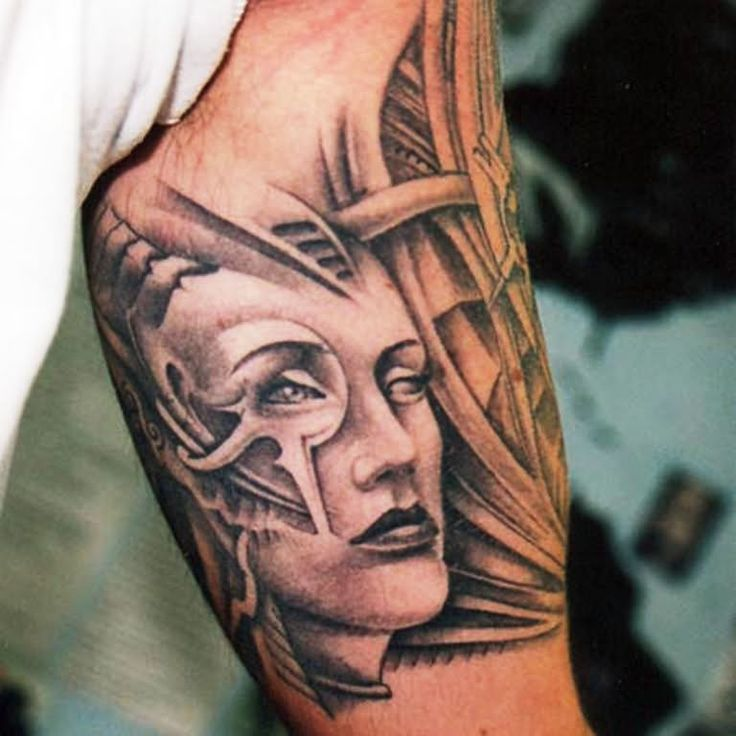 26 Latest & Trendy Front Bicep Tattoos for Men in 2020