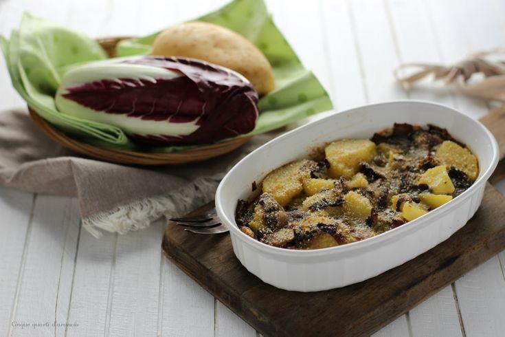 Lo sformato patate e radicchio è un secondo piatto gustoso e sfizioso, perfetto anche per chi non mangia la carne! Venite a scoprire la ricetta!