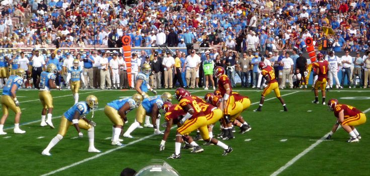 USC coach Pete Carroll said he would be willing to lose two timeouts during the game so that the USC team could wear their cardinal jerseys for the UCLA-USC football game on December 6, 2008. Description from digplanet.com. I searched for this on bing.com/images