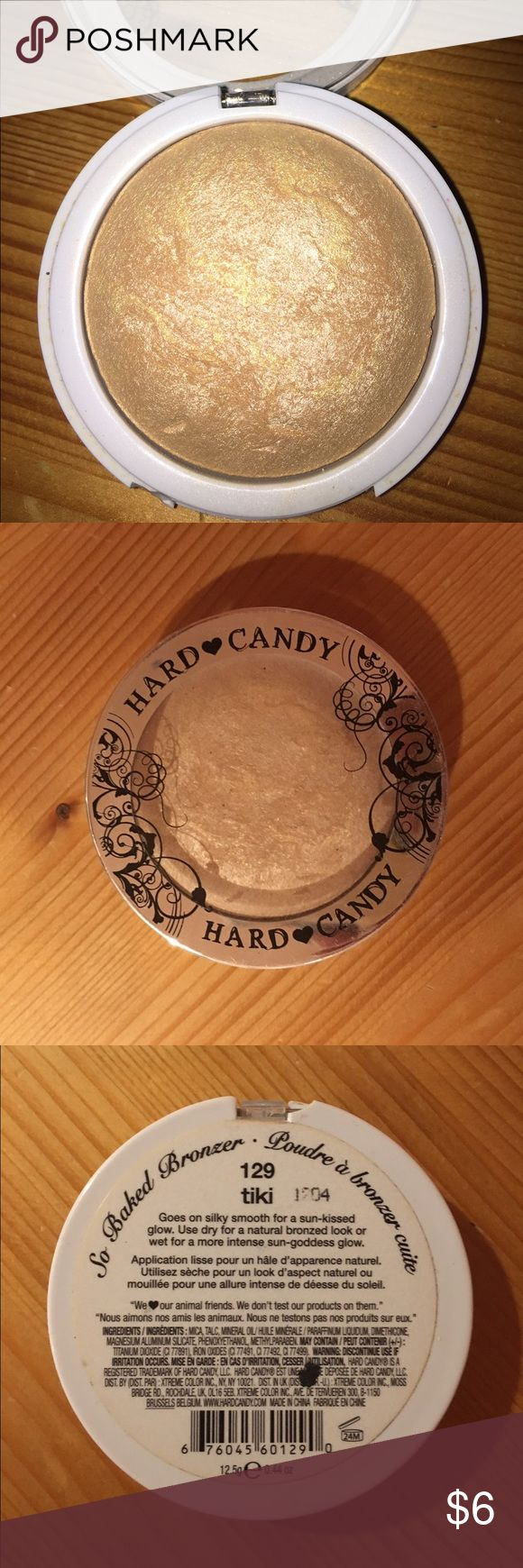 Hard Candy Baked Bronzer/Highlighter I used this a couple of times but I just don't use highlighter anymore. It works beautifully! Photographs well and goes on smoothly Hard Candy Makeup Bronzer