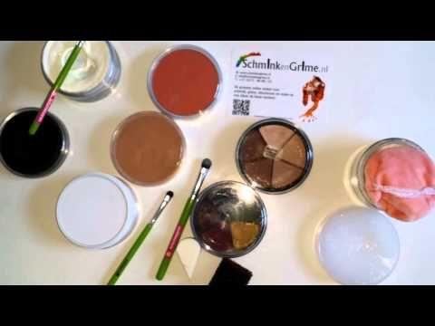 Leren schminken stap voor stap. Les 15. Verschillende schmink.