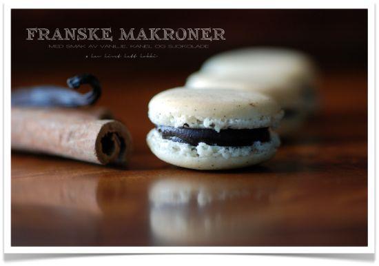 Franske makroner er en nytbar favoritt, og disse vaniljemakronene med kanel og sjokoladefyll har jeg bakt etter Ida Gran-Jansen sin oppskrift – dere vet hun som vant fjorårets «Hele Norge Baker». Vel, Ida hadde ikke kanel i sin sjokoladekrem, så akkurat det fant jeg på selv, jeg tilsatte altså 1 ts kanel. Jeg brukte også...Continue