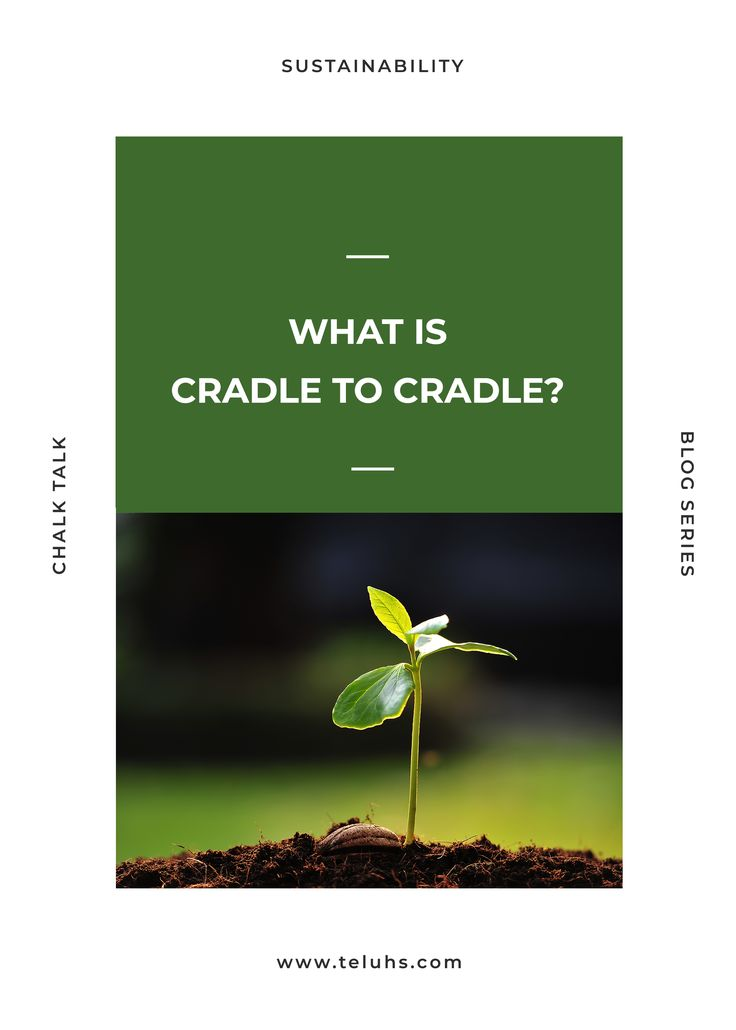 Cradle to cradle can be the answer for zero-waste in the fashion industry.  #cradletocradle #circulareconomy #zerowaste #fashion #sustainablefashion #recylcing #upcycling