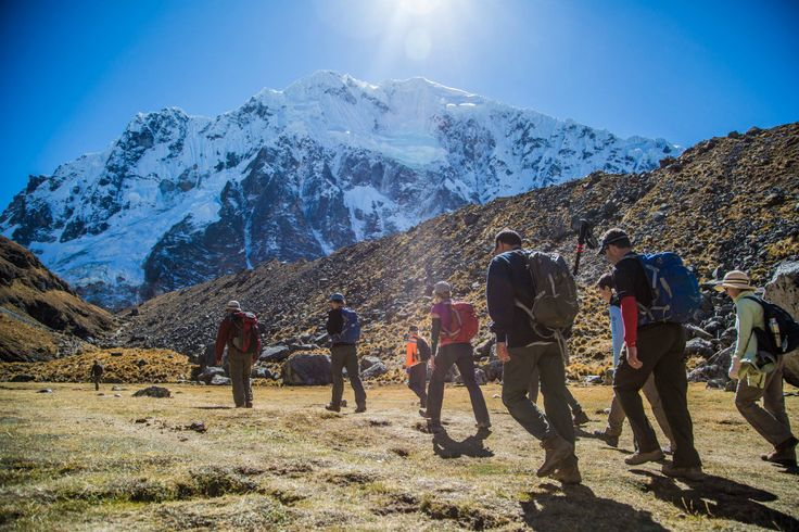 Salkantay Trek Hiking South America Trekking - Where to Go for a South America Trekking Holiday