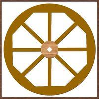 You are looking for something to dress up your landscaping; a nice looking, rustic wagon wheel!  Make a wooden wagon wheel that resembles old-country farmer's cart wheels; one with that rugged look of quality workmanship and design.  To make a wooden wagon wheel is not a simple task; but it is certainly do-able, and with some patience and attention...
