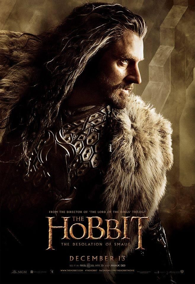 """7 Nouvelles Affiches Dévoilées pour """"Le Hobbit 2 : La Désolation de Smaug"""" !"""