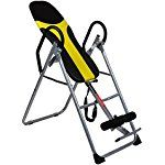 Cnlinkco Inversion Table Curved Chiropractic Fitness Exercise & Back Reflexology