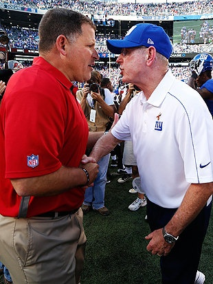 Tom Coughlin has harsh words for Greg Schiano after Giants beat Buccaneers