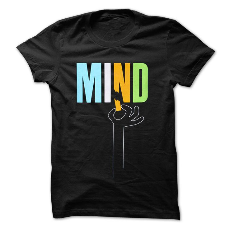 MY MIND IS BROKEN. Clever, Funny Nerdy, Geeky Quotes, Sayings, T-Shirts, Hoodies, Tees, Clothing, Gifts.