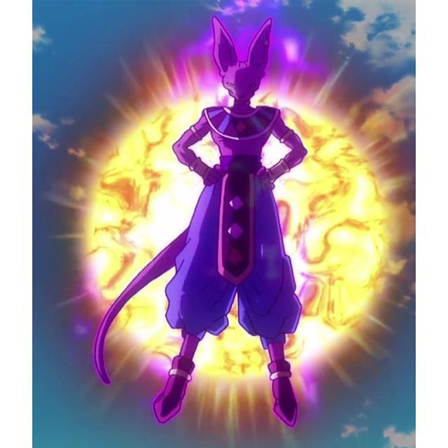 The title of the lord beerus is slightly fading away, and I can honestly say that I hate it. I refuse to see Goku or vegeta becoming stronger than him one day no no no, lord beerus is the ultimate badass I don't care about  how many years they train with whis please keep beerus on an higher level still..#devilzsmile, by devilzsmile.com