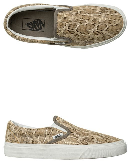 VANS SNAKE CLASSIC SLIP-ON SHOE