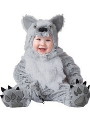 baby grey wolf costume - Wolf Halloween Costume Kids