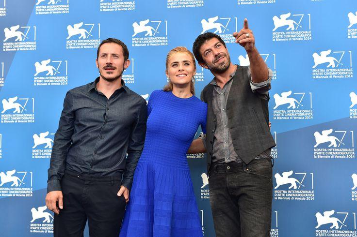 Pierfrancesco Favino at #Venice Film Festival for Senza Nessuna Pietà