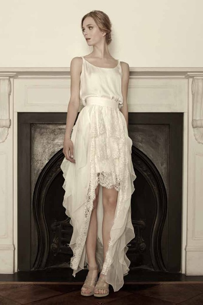Sophia Kokosalaki bridal collection 2013. Pandaisia skirt and top.