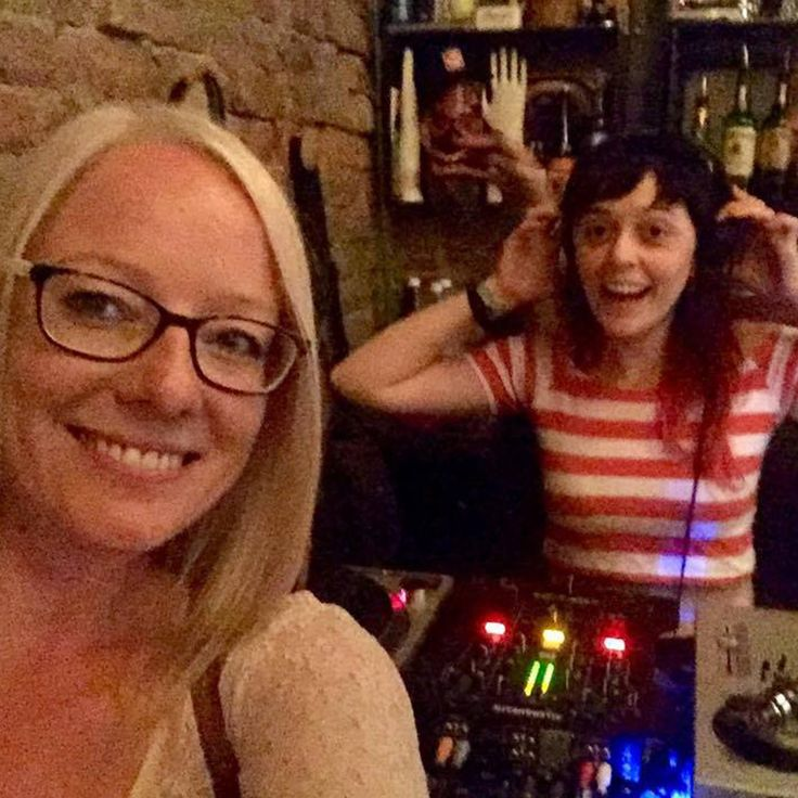 That time our Social Media Jedi dj'd two hours after arriving back after a long-haul flight from Italy... hard-working or crazy? :D