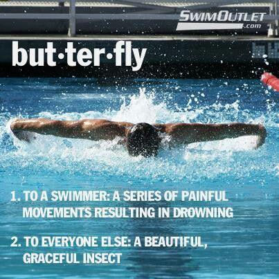 Swim Quote and Motivation