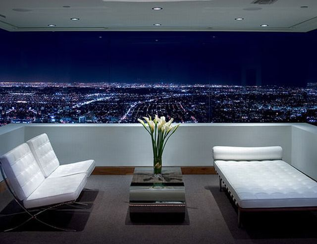 Post Modern House Located In The Hollywood Hills Los Angeles With What Must Be