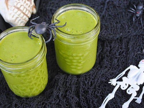 Czy wiecie że każdy zielony koktajl może być zielonym potworem?