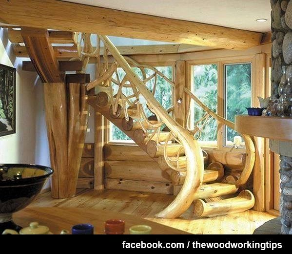 William S Woodworks Wood Stairs: 131 Best Great Stairs Images On Pinterest