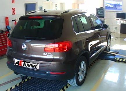 VW Tiguan 2.0CRTDI 140LE Chiptuning Teljesítménymérés