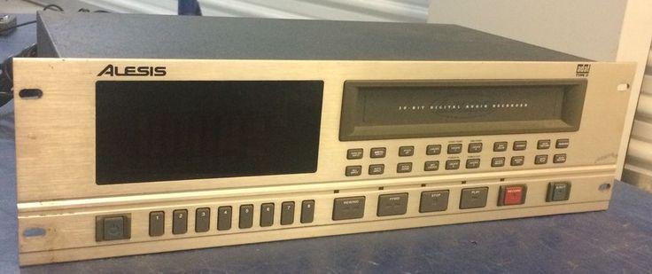 Alesis ADAT Type 2 LX20 20-Bit Digital Audio Recorder Rack #Alesis
