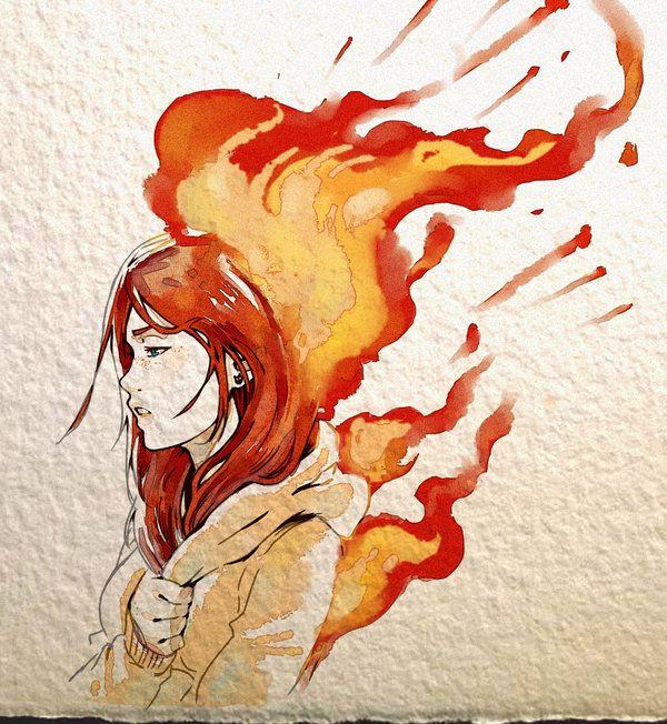 .: Up in Flames by 365-DaysOfDoodles.deviantart.com on @DeviantArt