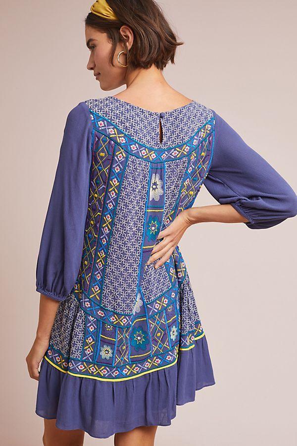 af20192864 Slide View  3  Patna Embroidered Tunic Dress