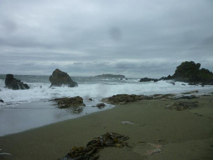Mal tiempo,Ancud,Isla de Chiloé,Chile