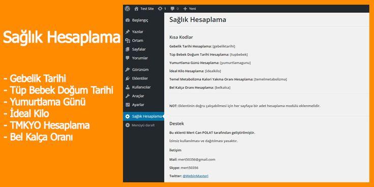 Sağlık Hesaplama Eklentisi - Sağlıklı Yaşam İçin | Sanal Kod - Türkiye'nin Webmaster Marketi.