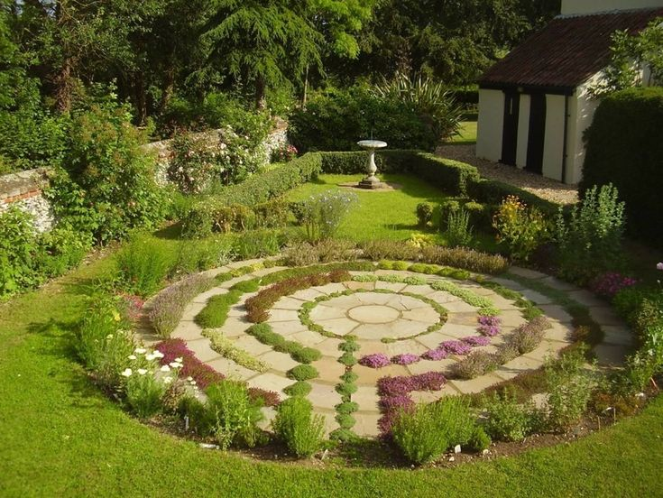 1000 images about garden design on pinterest mosaic for Garden labyrinth designs
