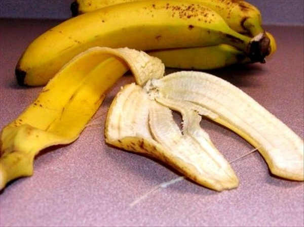 Healing Poison Ivy Rashes, Insect Bites With Banana Peel from Food.com:   This natural method dries out the rash very quickly. Hope you have a quick recovery!  I have to give this credit to Nancy a client of mine. She uses it and swears by it.  Make sure you wash clothes and shoes as soon as possible. To relieve itchy skin whatever it may be, give it a try. cleaning-home-remedys