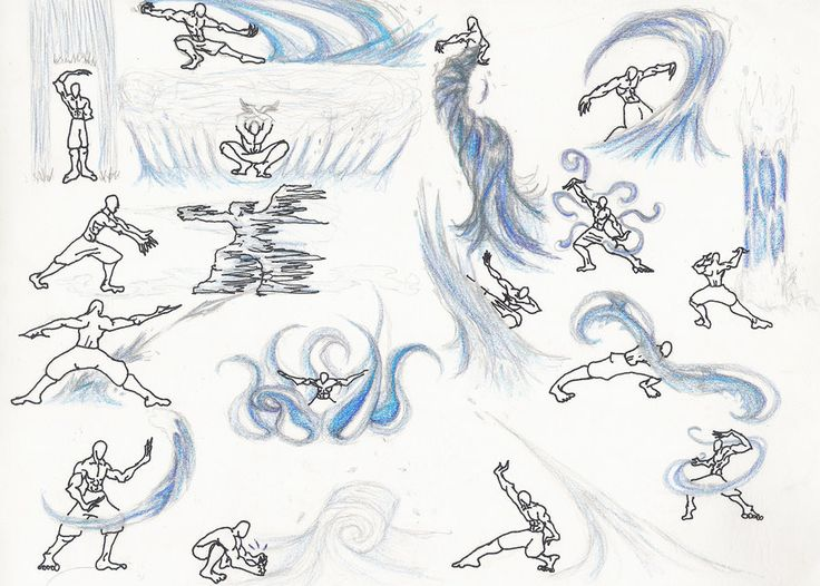 How to Do Waterbending   This is not my work. I do not take credit for this piece of art.