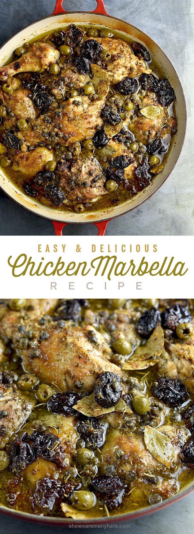 Chicken Marbella Recipe   shewearsmanyhats.com