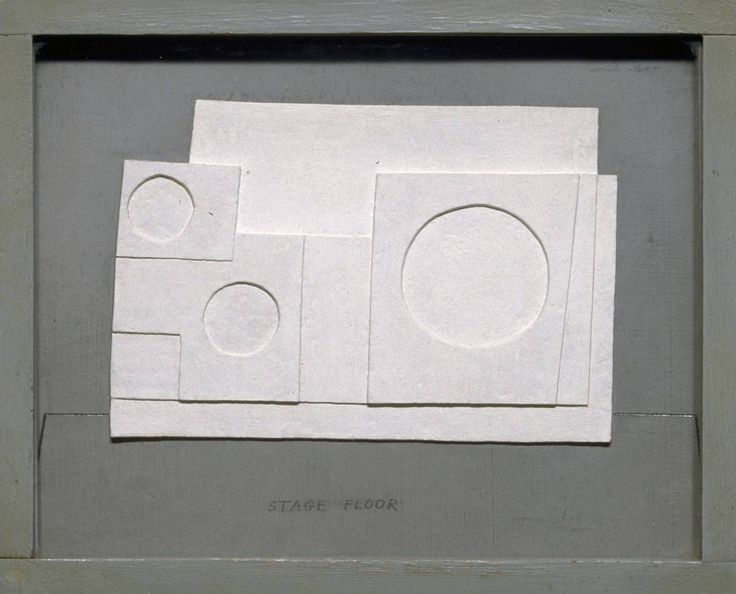 Ben Nicholson.  1934 project for Massine for Beethoven 7th Symphony Ballet, 1934.